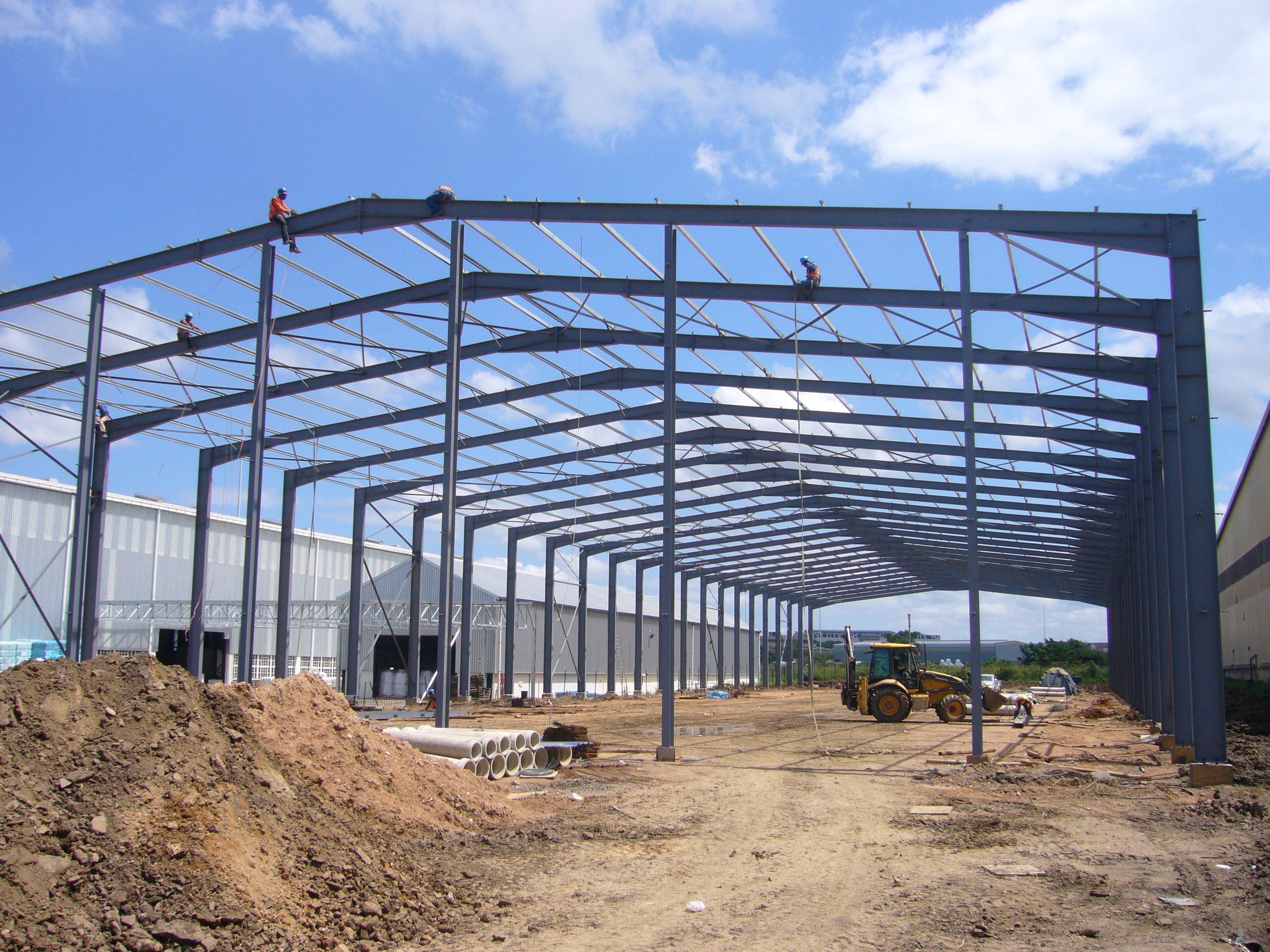 Steel Portal Frame Buildings For Sale